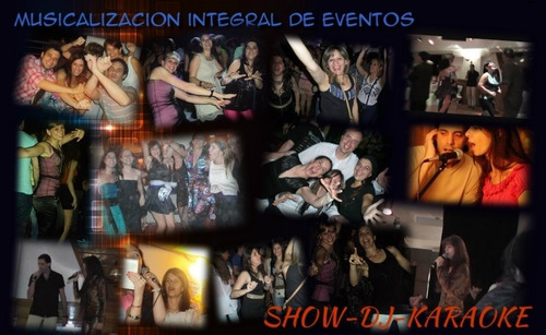show musical en vivo + disc jockey (total 4 horas): 3600$