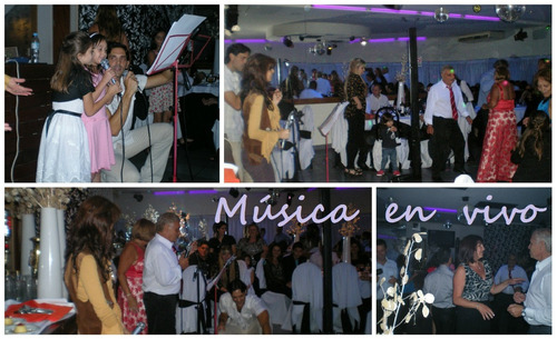show musical en vivo + disc jockey (total 4 horas): 4000$