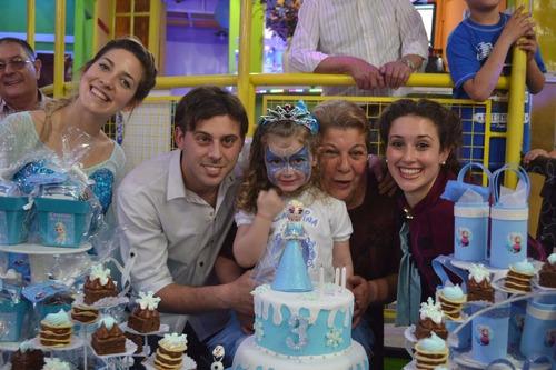 show musical frozen - animación, juegos, momento de la torta