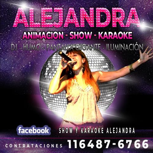 show musical, karaoke, dj, luces, pantalla gigant, animación