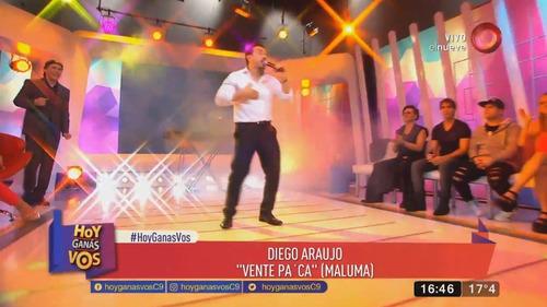 show musical latino. cantante tributos luis miguel y otros