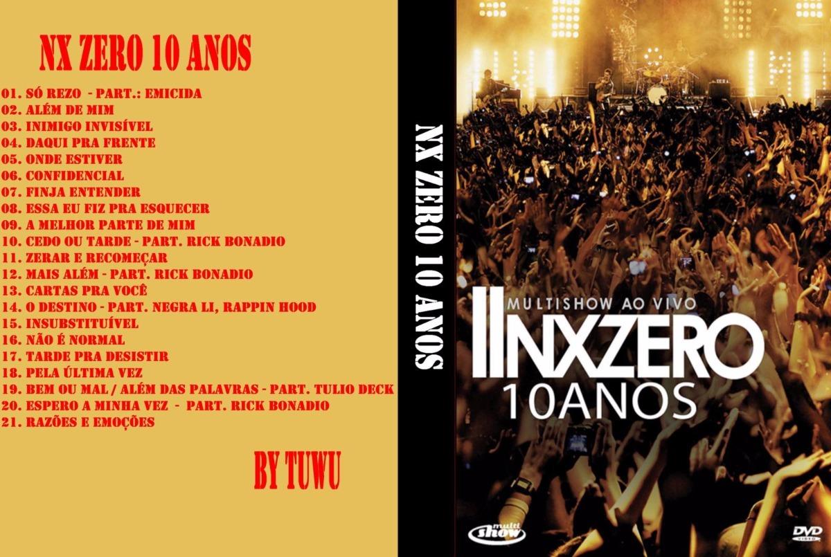 dvd nxzero 10 anos