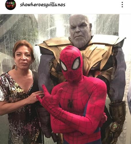 show  obra teatro fiestas superheroes y villanos super real!