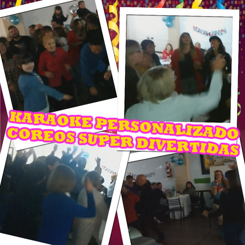 show original evento x zoom virtual animacion coreos karaoke