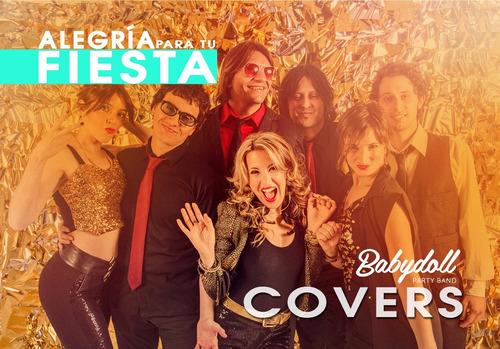 show para fiestas cumpleaños banda de covers