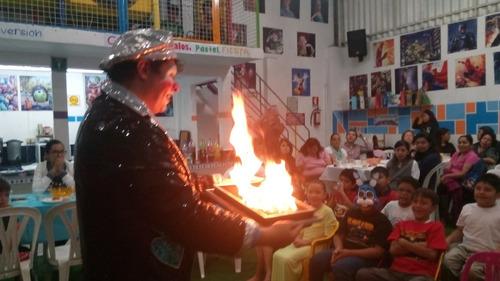 show payaso, mago, fiestas eventos