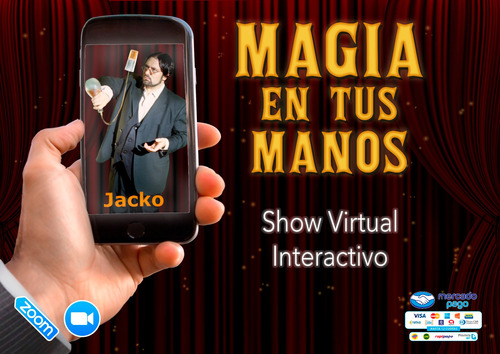 show por zoom - magia y humor - el mago mas gracioso
