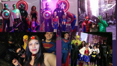 show princesas, super héroes,luz y sonido,botargas animación