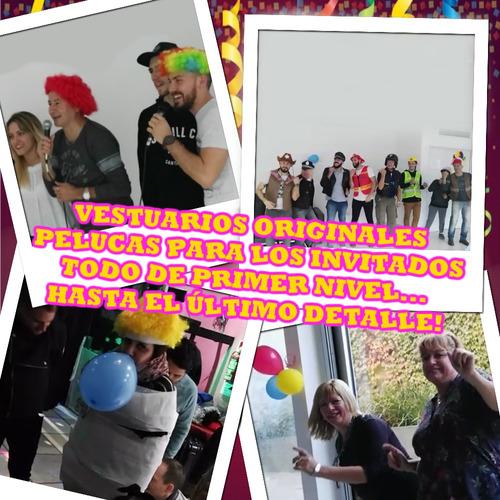 show re divertido animacion juegos prendas baile dj karaoke
