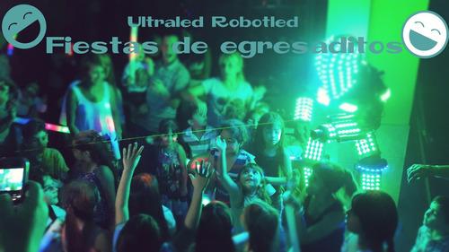 show robot led,