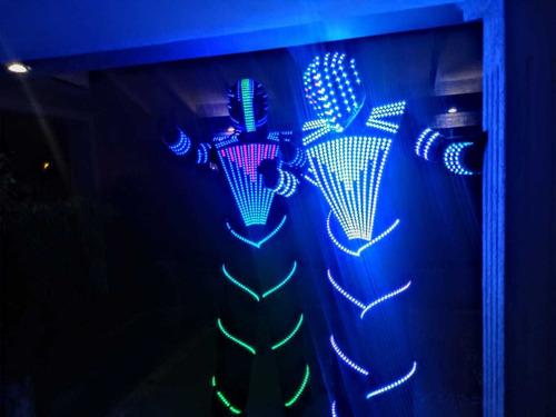 show robot led , cabina de fotos , pista led y mas
