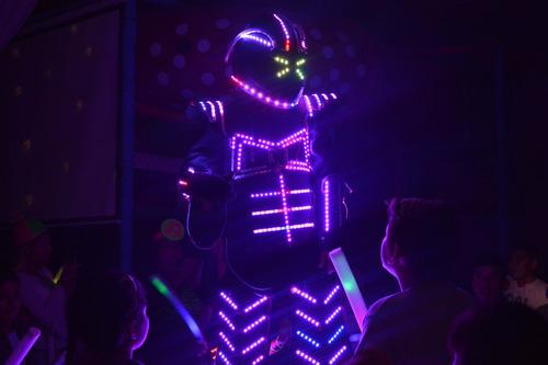 show robot led  cumples de 15, infantiles, casamientos