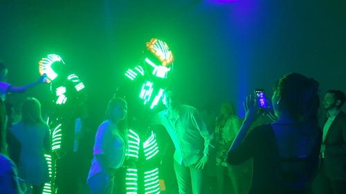 show robot led depredador led el mejor movimento zona norte!