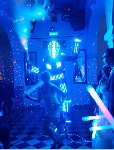 show robot led, infantiles desde $1500,egresados desde $2500