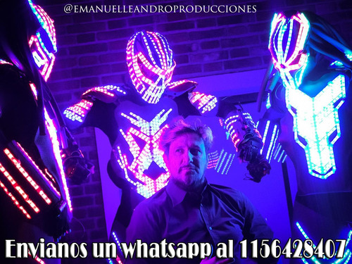 show robot led - show luminoso - show baile led