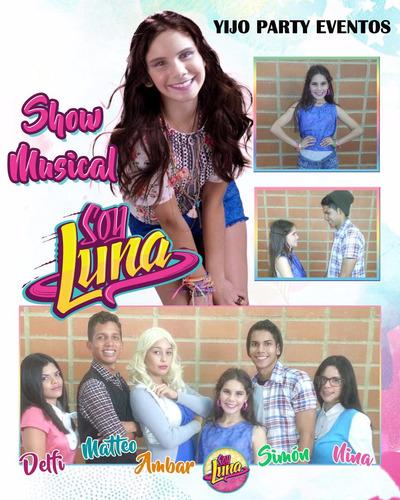 show soy luna,descendientes,frozen,spiderman,paw patrol