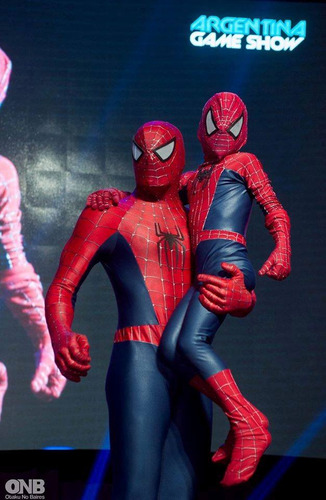 show spiderman. teatro -animación infantil del hombre araña