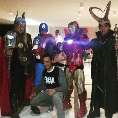show star wars, vengadores (avenger), batman y piratas