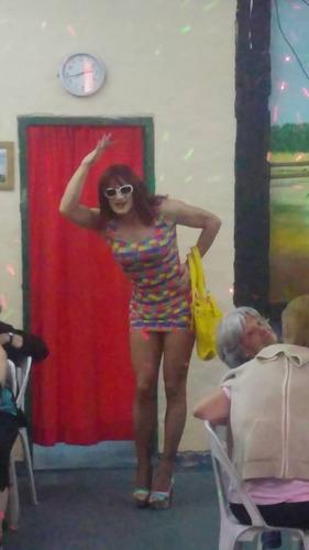 show transformista comico musical para fiestas.