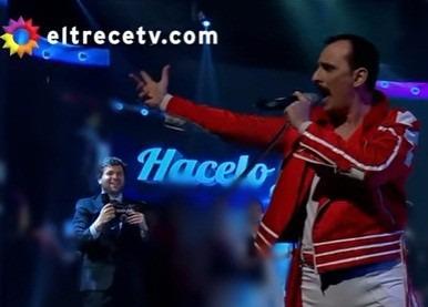 show tributo a queen por reina madre  (banda en vivo)