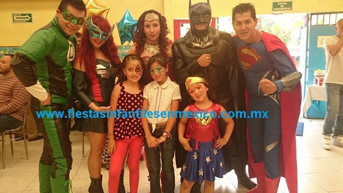 show vengadores mickey infantiles botargas super heroes aven