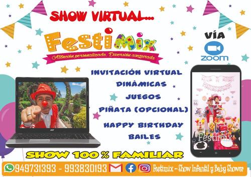 show virtual infantil y baby shower - festimix
