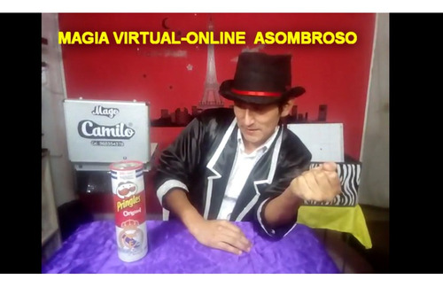 show virtual-online de magia  del mago camilo