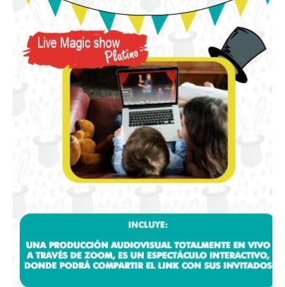 show virtual y saludos mágicos! - magia virtual -