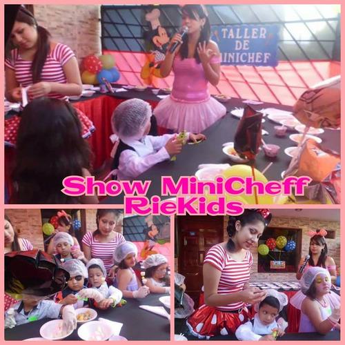show y fiestas infantiles riekids los olivos lima peru