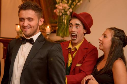 show y recepciones de mimo-clown     manu porfavor