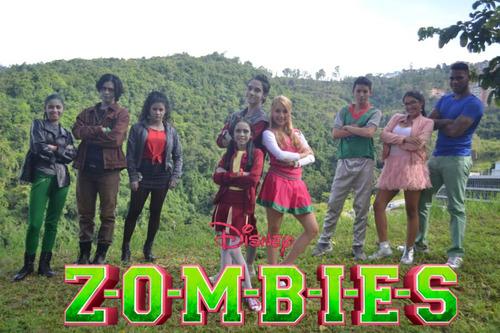 show zombies coco moana descendientes princesas aladdin