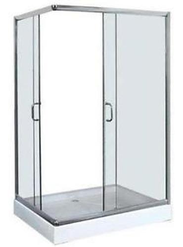 shower door con receptaculo 80x120x180  v. templado, derecho