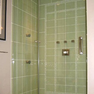 shower door - templado - acrilico