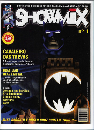 showmix ed 1 revista universo quadrinhod tv cinema  revista