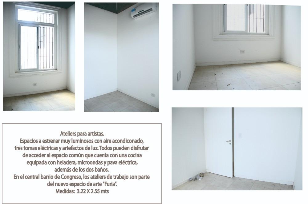 showroom/talleres/ateliers - zona congreso