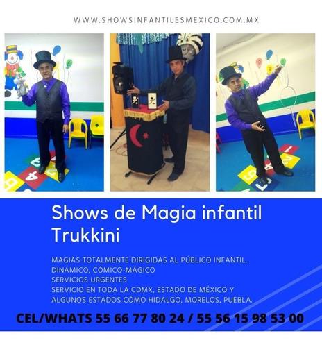 shows de magos para fiestas infantiles cdmx y en el edo mex
