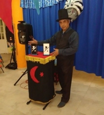 shows de magos para fiestas infantiles. trukkini en cdmx