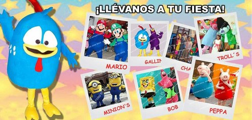 shows de peppa pig mario bros gallina pintadita trolls etc