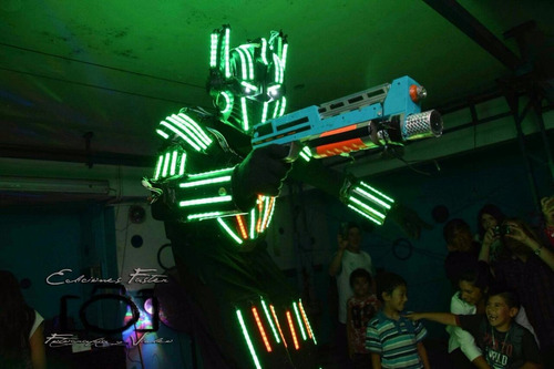 shows de robots de led y pistas de led!
