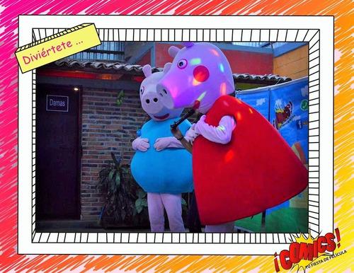 shows infantiles animadores personajes botargas concursos