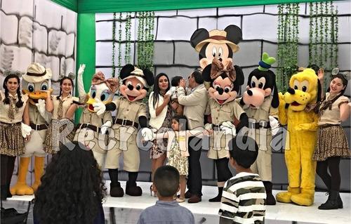 shows infantiles con recreolandia, paquetes completos