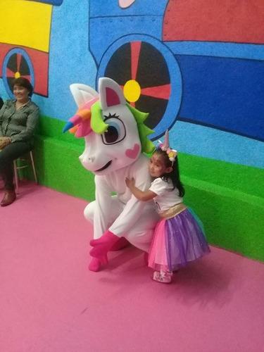 shows infantiles gallina pintadita unicornio feria payaso