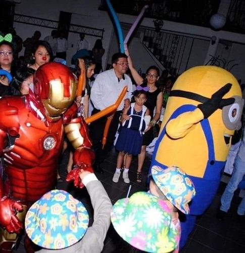 shows infantiles, robots leds, botargas y mas