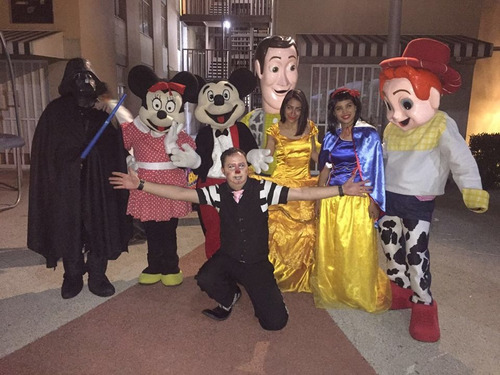 shows infantilespayasos super heroes botargas y mas