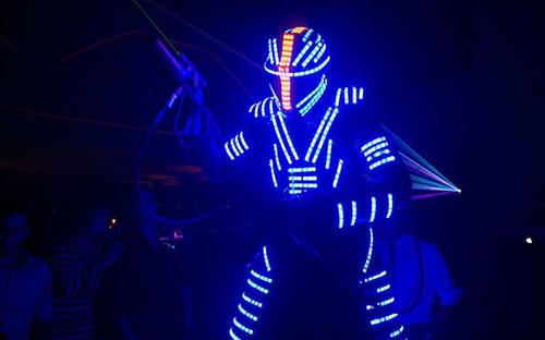 shows luminosos + regalo! robot comparsa animación