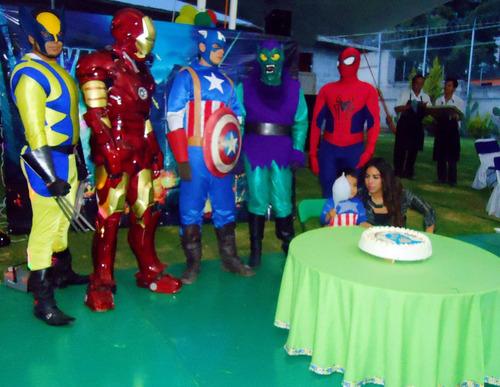 shows profesionales superheroes, princesas, botargas, imitad