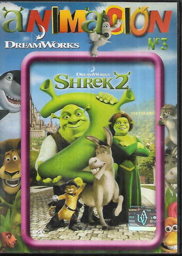 shrek 2 con nuevo final coleccion animacion 3 avh dvd