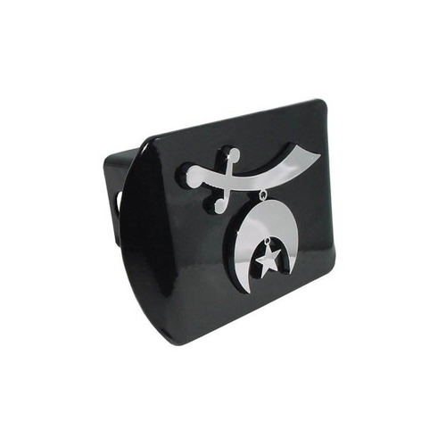 shriner all metal black enganche cover