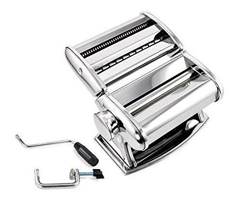 shule máquina hacer pasta acero inoxidable incluye cortador