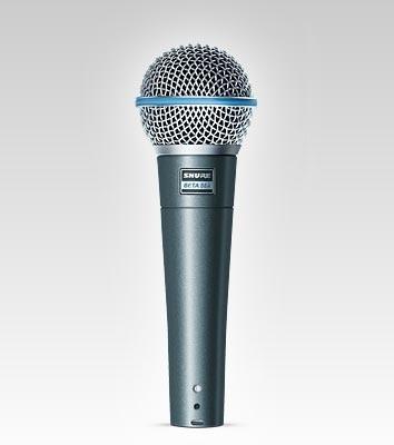 shure beta58a micrófono de mano -envió gratis